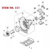 Makita Clutch Housing (DA00000450)